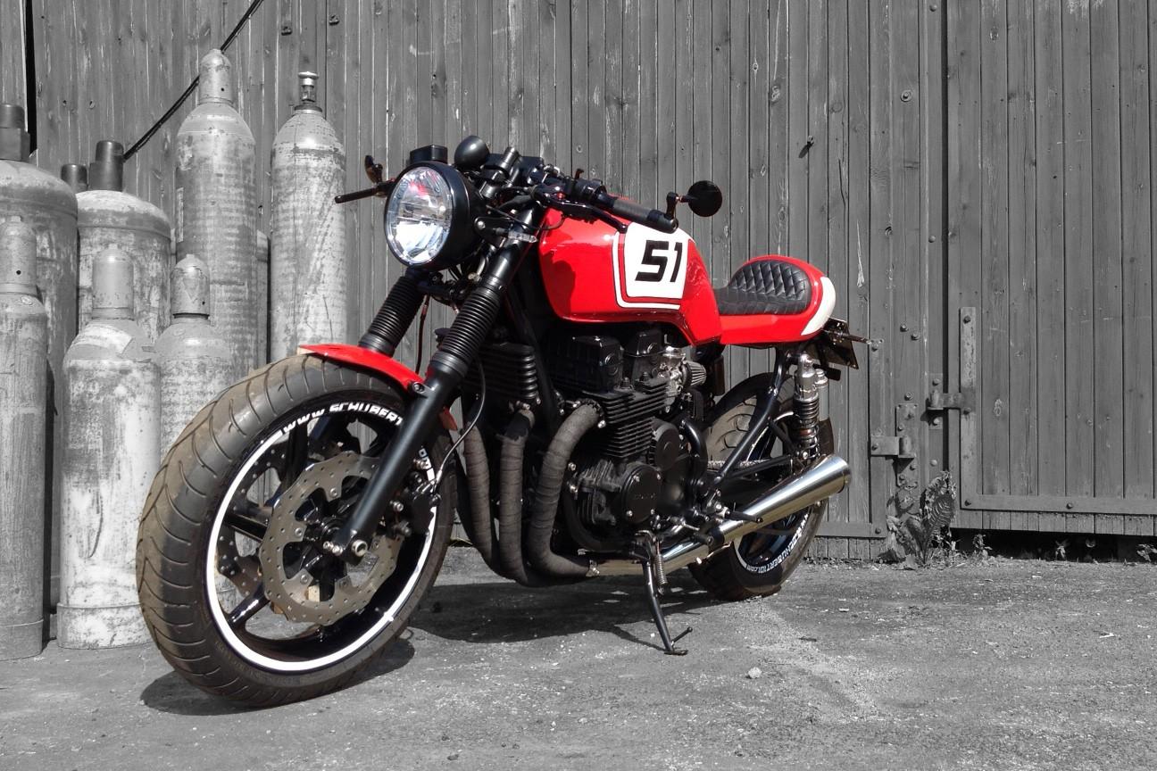 [:de]Honda CB750 Cafe-Racer Schubert 101 Dresden[:]